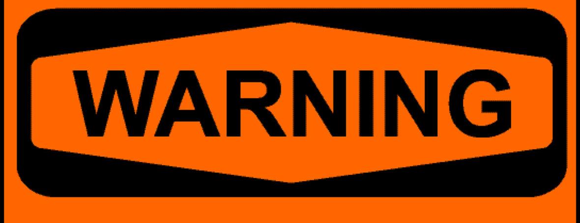 Warning HVAC replace